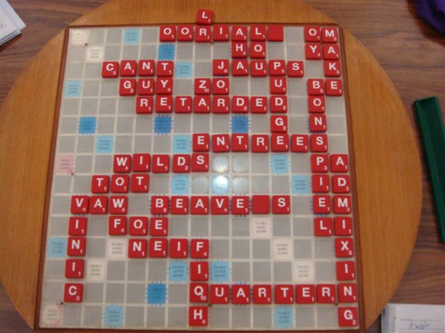 Alastair's 699 point game