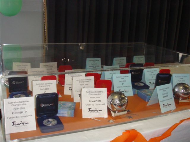 Prize cabinet